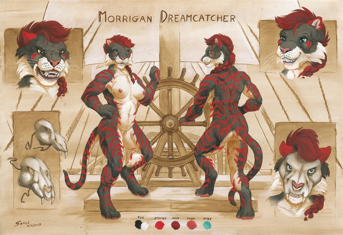 Dreamcatcher ref sheet
